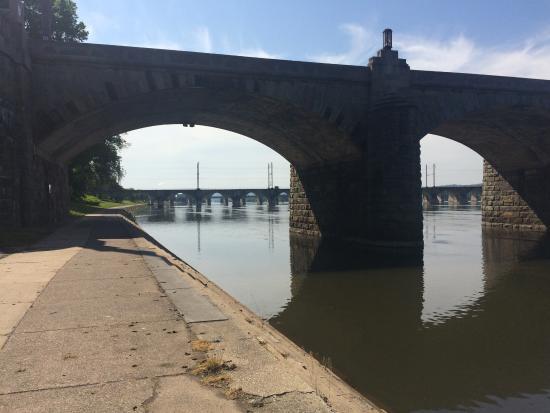 Riverfront Park: Bridges