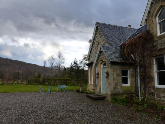 Craigard Guest House : Late afternoon at Craigard House