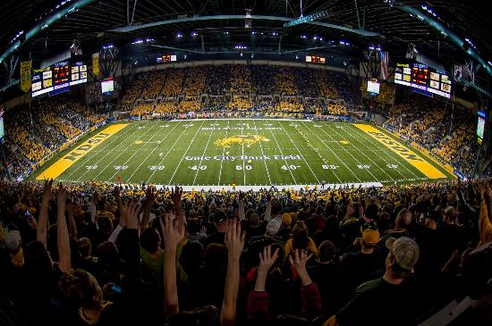 NDSU Football at the FARGODOME