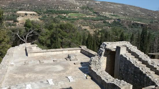 Knossos Archaeological Site: Вид