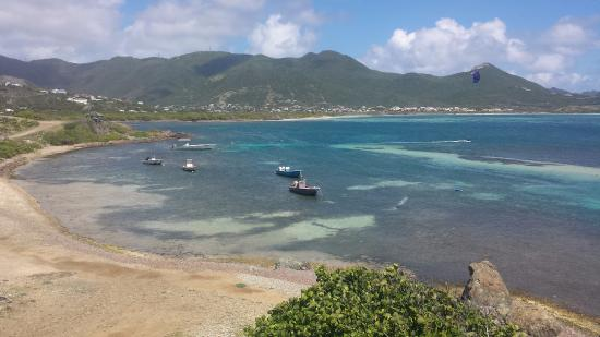 Simpson Bay, St Marteen/St. Martin : From the Rotary lookout point on the way to Orient Beach.