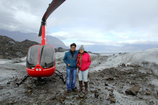 Girdwood, AK: Our Helicopter!