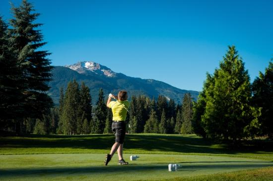 Whistler, Canada: Golfing at Nicklaus North Golf Course