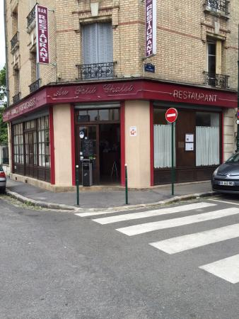 Colombes, Francia: façade du restaurant