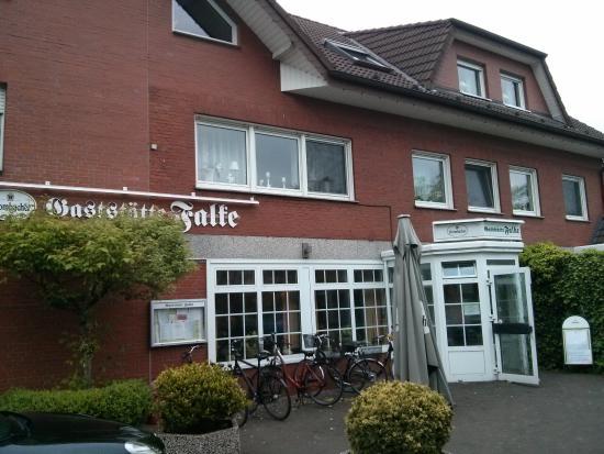 Harsewinkel, Deutschland: Außenfront des Lokals