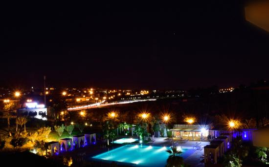 Palais Medina & Spa: The view in the evening was vibrant and beautiful