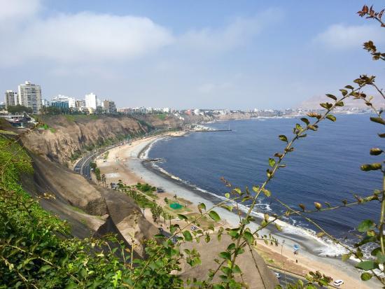 Miraflores Boardwalk. Lima, Peru - Travel To Eat