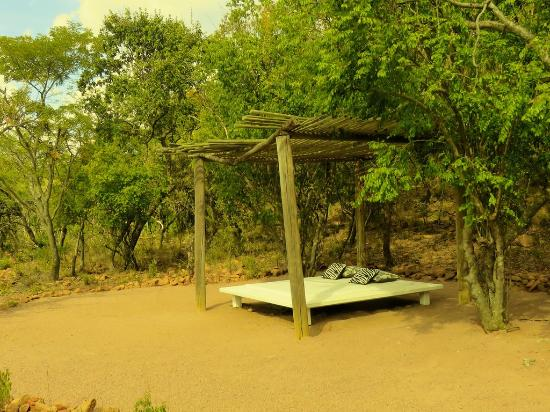Waterberg, Sudáfrica: Bush bed