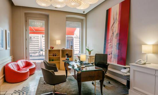 Casati Budapest Hotel: reception