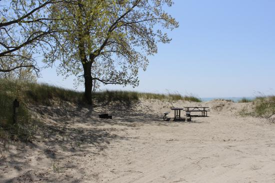Long Point Provincial Campground: Site 434