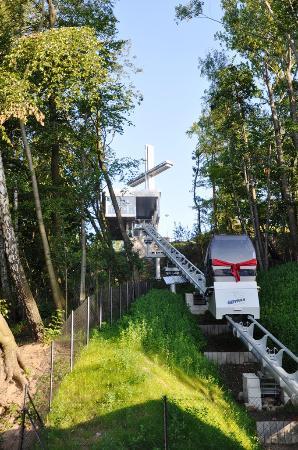 Funicular to Kamienna Gora