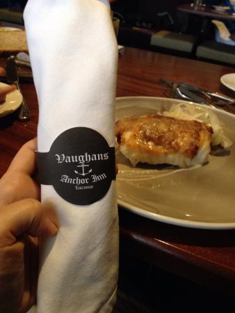 Vaughans Anchor Inn: Monkfish was sooo juicy and melted in my mouth. The fest fish I've ever tried. The crime brûlée