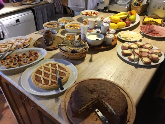 Agriturismo Marciano: Breakfast