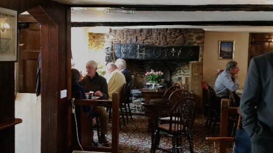 Bruton, UK: Original 1650 dining room