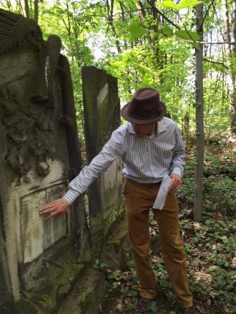 Polin Travel Guide & Genealogy - Private Day Tours: Tomasz helping us to discover my husband's ancestors.