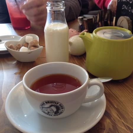 Kendal, UK: tea