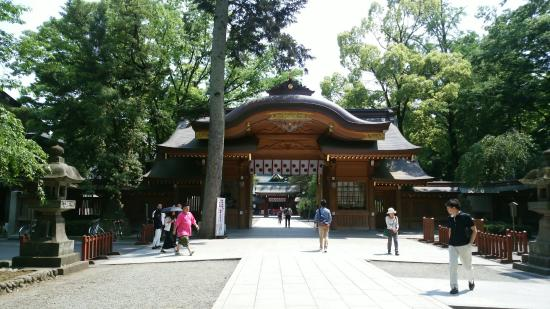 ‪Okunitama Shrine‬