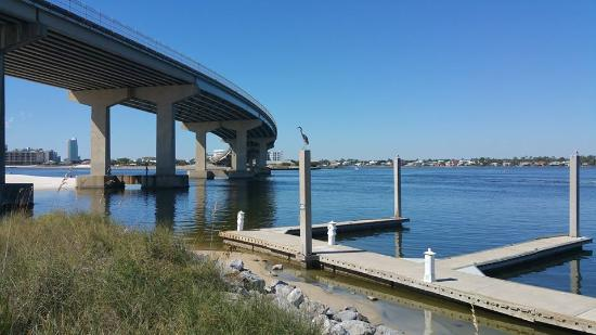 Cobalt The Restaurant: Nestled under the Perdido Bay Bridge, enjoy a spectacular view of the bay from every table.