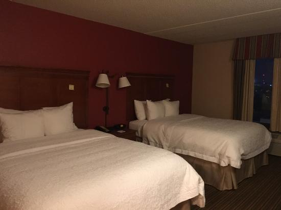 Hampton Inn and Suites Chicago-Libertyville: 2 double bed, room 411