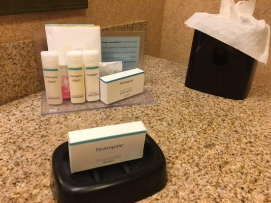 Hampton Inn and Suites Chicago-Libertyville: Bath Amenities