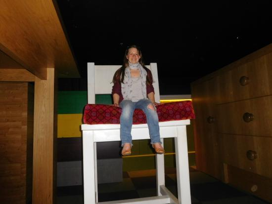 National Leprechaun Museum: Giant Furniture..or Little People?