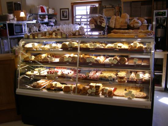 Amador City, Kaliforniya: Fresh daily pastry selection - to die for!
