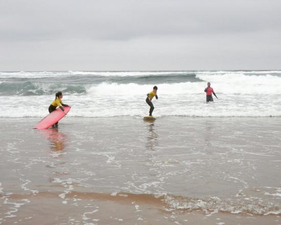 Liencres, İspanya: Valdearenas surf