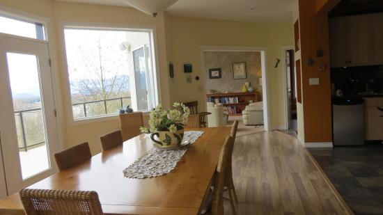 Riverview B&B: Dining Room