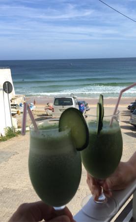 Burgau, Portugal: Smoothie Green proteine