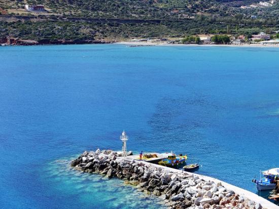 Villa Vasilis: Harbour view from balcony