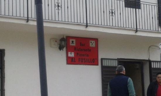 San Giorgio Albanese, Italie : ingresso ristorante