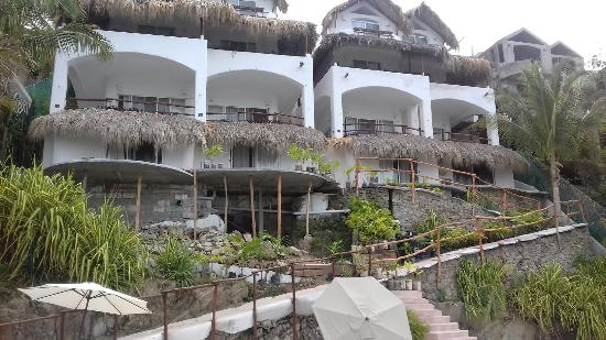 Crucecita, Мексика: Hotel Villas Fandango