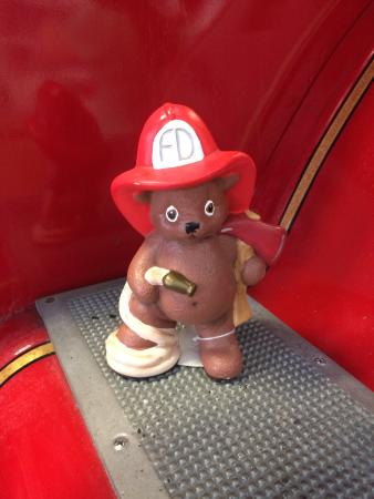 Homestead Historic Town Hall Museum : firefighter bear