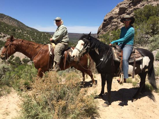 Taos County, New Mexiko: Trail ride