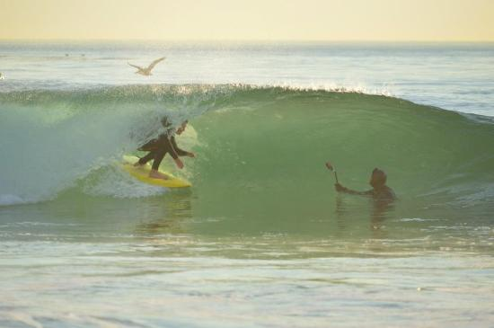 Dana Point, CA: 3rd generation Eric Diamond surfing the Salt Creek, Photo: Catherine Gregory