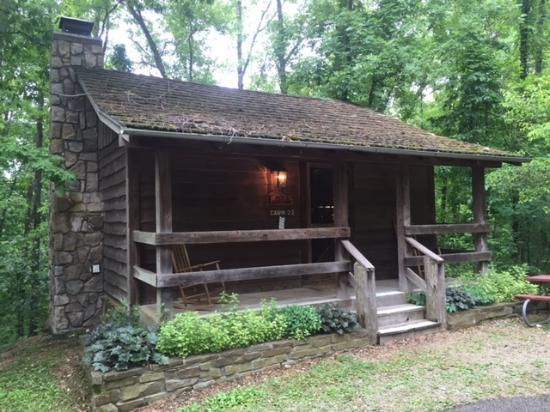 Hanging around at the cabin picture of silver dollar for Cabins near branson mo