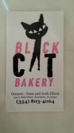 Enterprise, AL: Black Cat logo