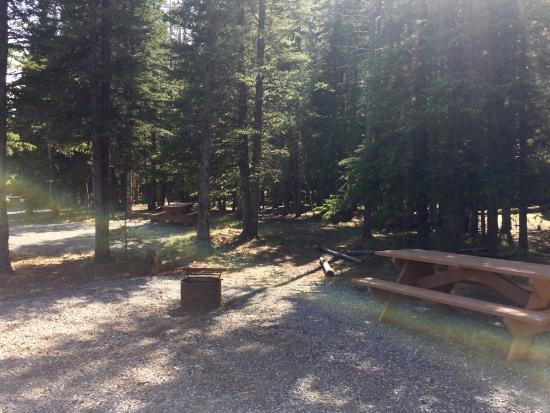 Bragg Creek, Canadá: Sites shaded by trees and hill for exploring