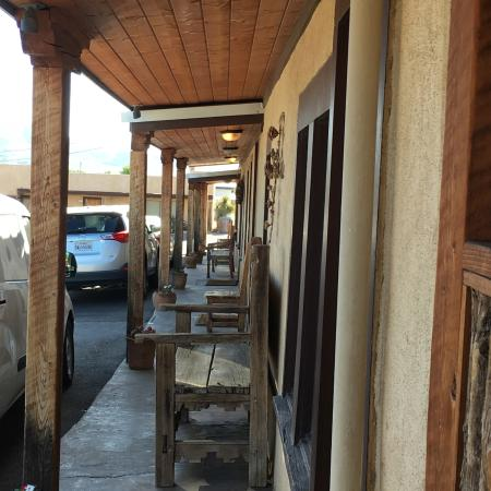 Alpine, Teksas: Drive Up Rooms
