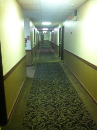 Baymont Inn & Suites Fargo: Dingy hallway