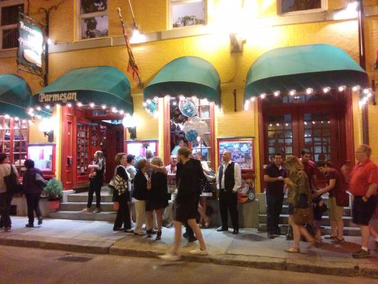 The Outside View Of Restaurant Picture Of Restaurant Parmesan