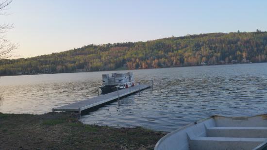 Saint Aime Des Lacs, Canada: De quoi rejouir les amateurs de pêches