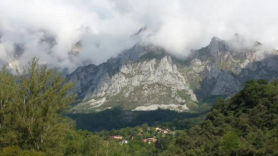Camaleno, Spanje: Vista desde el hotel