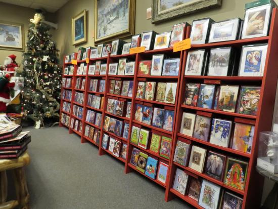 Leanin Tree Christmas Cards.Section Of Store With Christmas Cards Picture Of Leanin