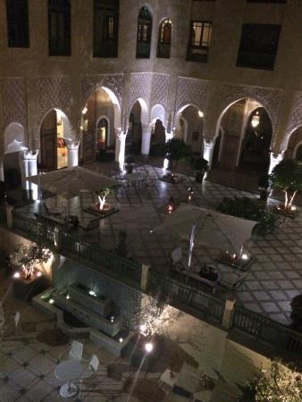 Palais Faraj Suites & Spa: Courtyard