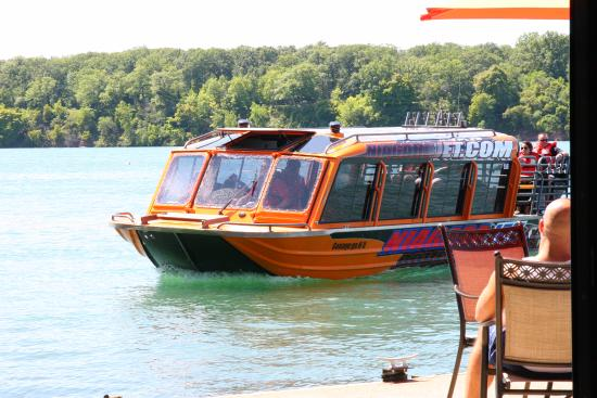 Youngstown, Nowy Jork: The jet boat