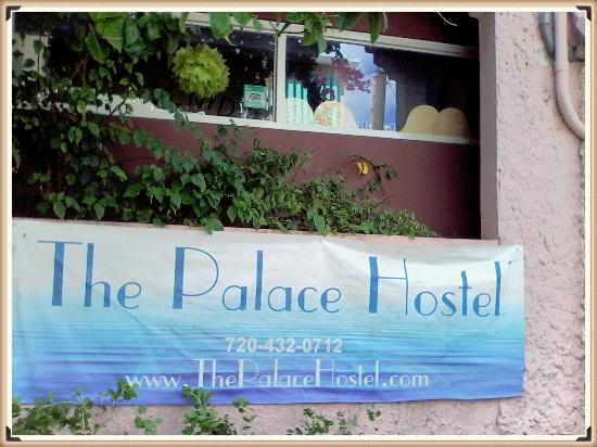 The Palace Hostel: Outside our Palace Hostel