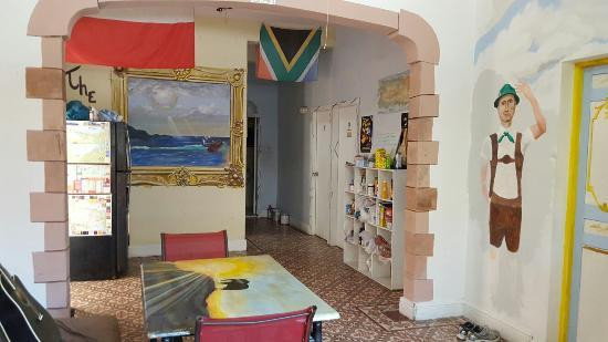 The Palace Hostel: Common areas