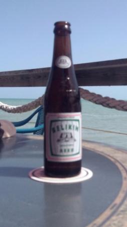 Bird's Isle: Belikin is the local beer