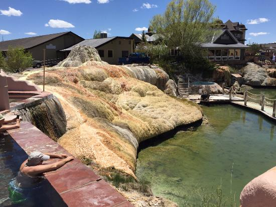 Pagosa Springs, CO: The natural sculpture of one of the spring heads.